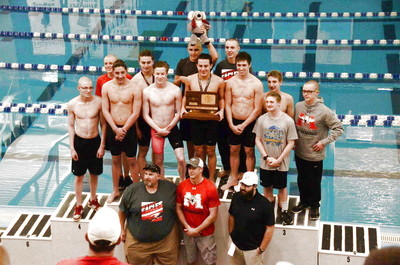 Maize High Boys Swim Team